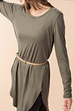 KORI AMERICA Rib Tunic Top - Alternate List Image