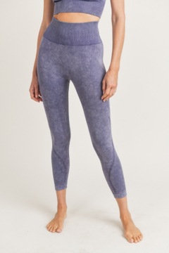 Mono B  Mineral Washed Seamless Leggings - Product List Image
