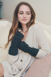 Leto Ribbed Arm Warmers - Product Mini Image