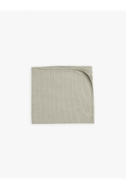 Quincy Mae Ribbed Baby Blankeet - Sage - Product Mini Image