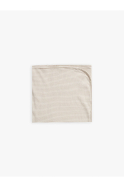 Quincy Mae Ribbed Baby Blanket - Ash Stripe - Product Mini Image