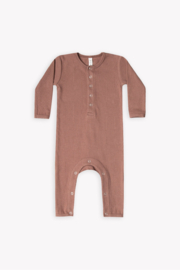 Quincy Mae Ribbed Baby Jumpsuit - Product Mini Image