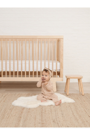 Quincy Mae Ribbed Baby Jumpsuit - Petal - Product Mini Image
