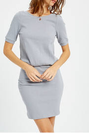 Wishlist Ribbed Blouson Dress - Product Mini Image