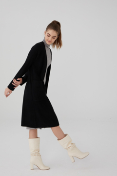 Revive Cashmere Ribbed Cardigan - Product List Image