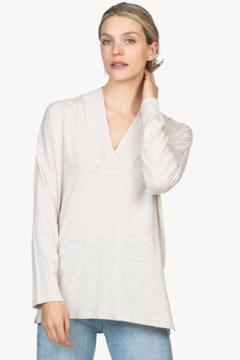 Shoptiques Product: Ribbed collar tunic