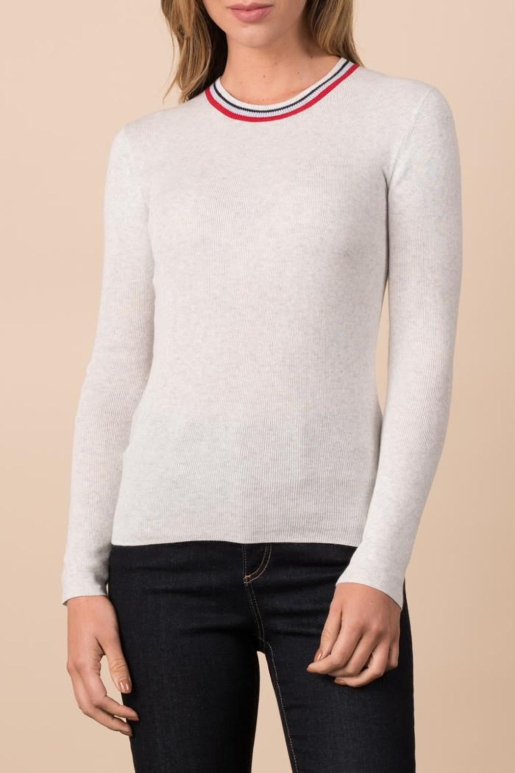 Margaret O'Leary Ribbed Crew - Main Image
