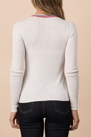 Margaret O'Leary Ribbed Crew - Side cropped