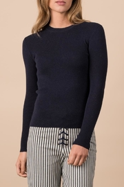 Margaret O'Leary Ribbed Crew - Front cropped