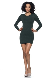 Capella Apparel Ribbed Crew Dress - Product Mini Image