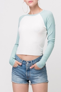 Double Zero Ribbed Crop Top - Alternate List Image