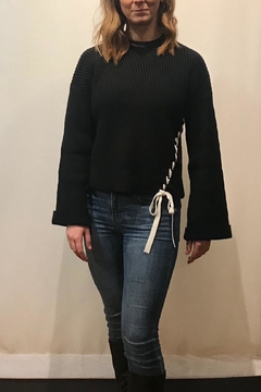 Fate Ribbed Cropped Sweater - Product List Image