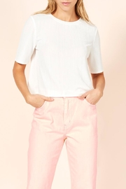 MinkPink Ribbed Cropped Tee - Product Mini Image