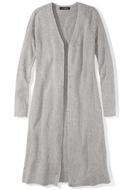 525 America Ribbed Duster Cardigan - Product Mini Image