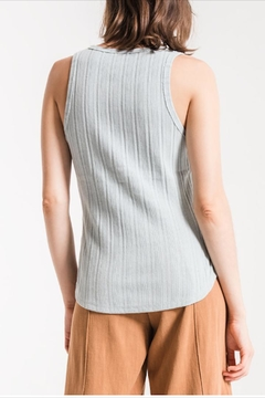 Others Follow  Ribbed Henley Tank - Alternate List Image