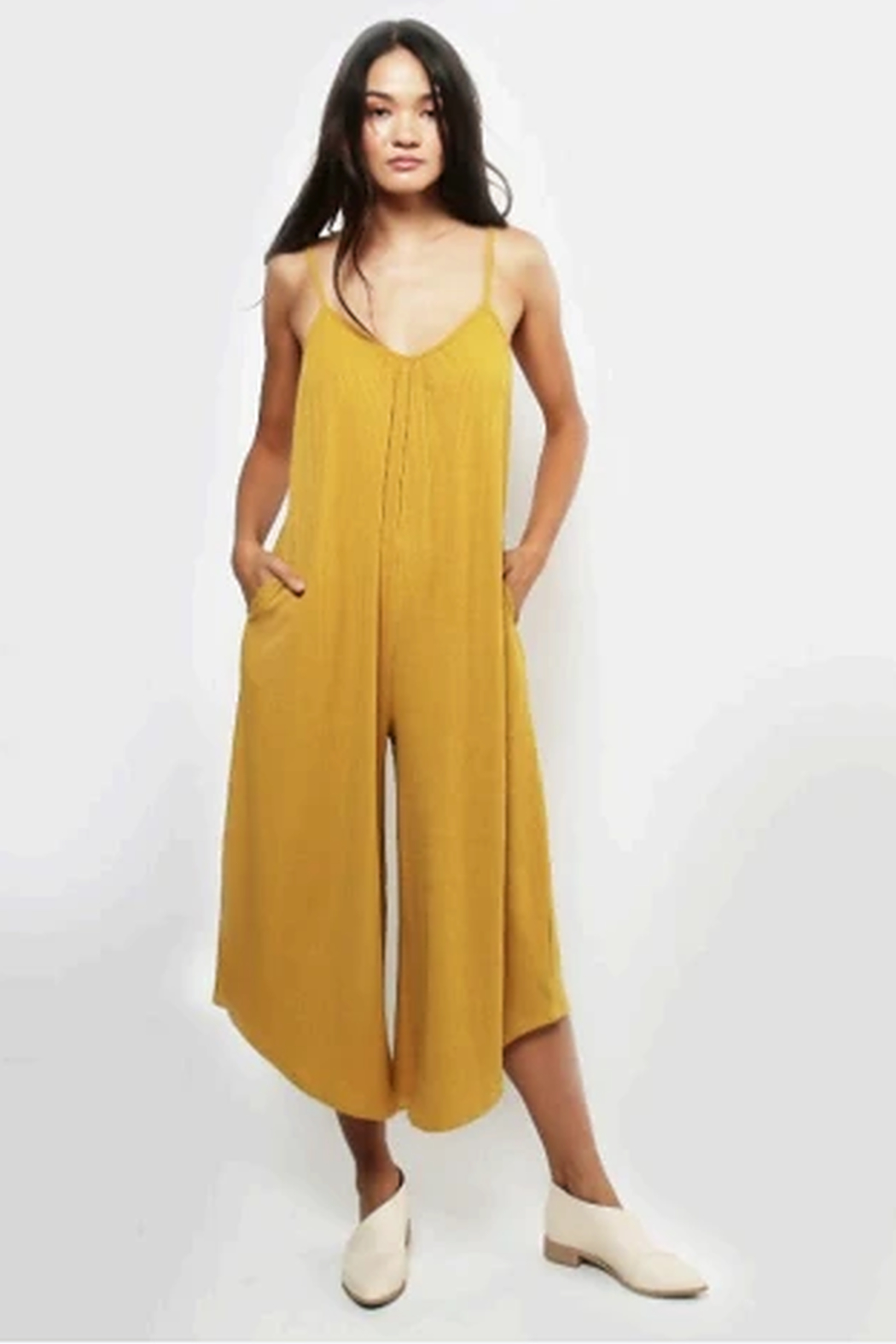 Lira Ribbed jumpsuit - Front Cropped Image