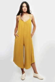 Lira Ribbed jumpsuit - Front cropped