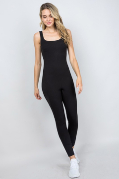 Shoptiques Product: Ribbed Jumpsuit