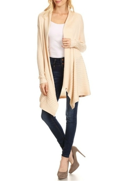Shoptiques Product: Ribbed Knit Cardigan