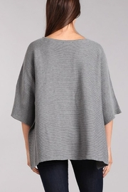 Blvd Ribbed Knit Dolman Sweater - Front full body