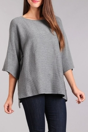 Blvd Ribbed Knit Dolman Sweater - Front cropped