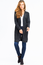 MONTREZ RIBBED KNIT DUSTER CARDIGAN - Other