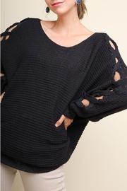 Umgee USA Ribbed Knit Pullover - Product Mini Image