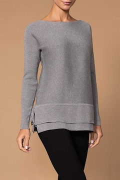Elena Wang  Ribbed Knit Sweater - Alternate List Image