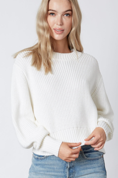 Shoptiques Product: Ribbed Knit Sweater