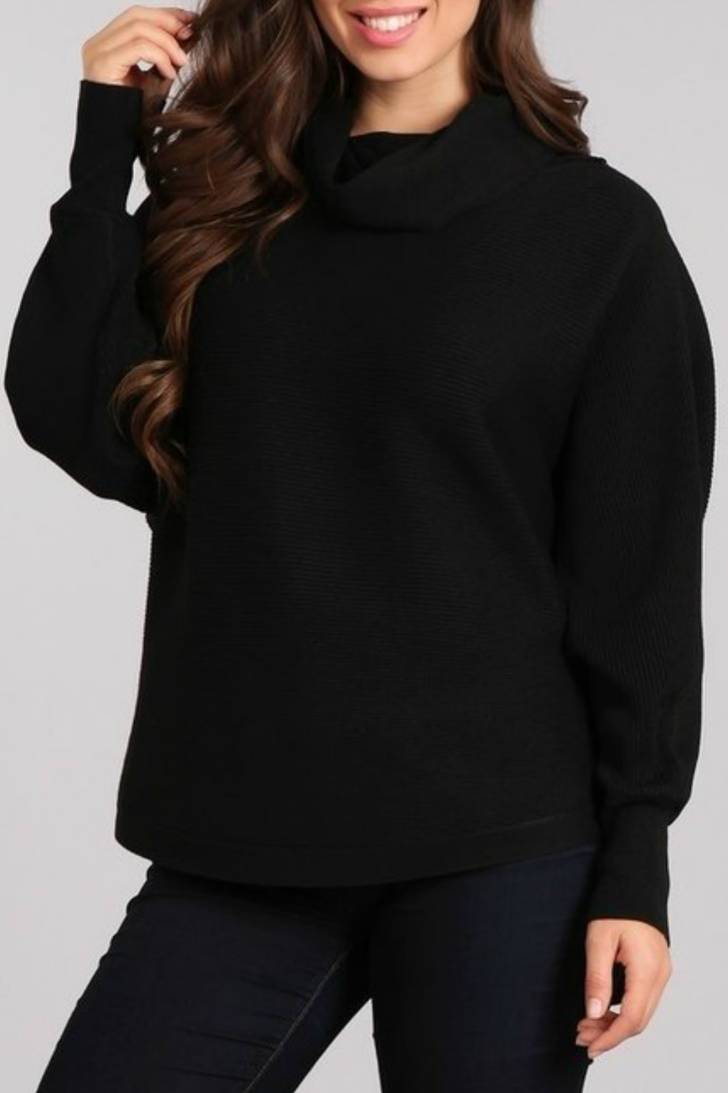 725511d33b2 Blvd Ribbed Knit Sweater from Louisiana by Bella Bella - Metairie ...