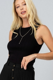 Trend Notes  Ribbed Knit Tank - Product Mini Image
