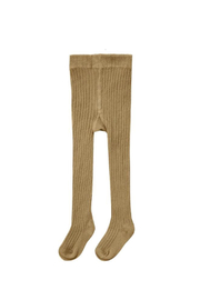 Rylee & Cru Ribbed Knit Tights - Goldenrod - Product Mini Image