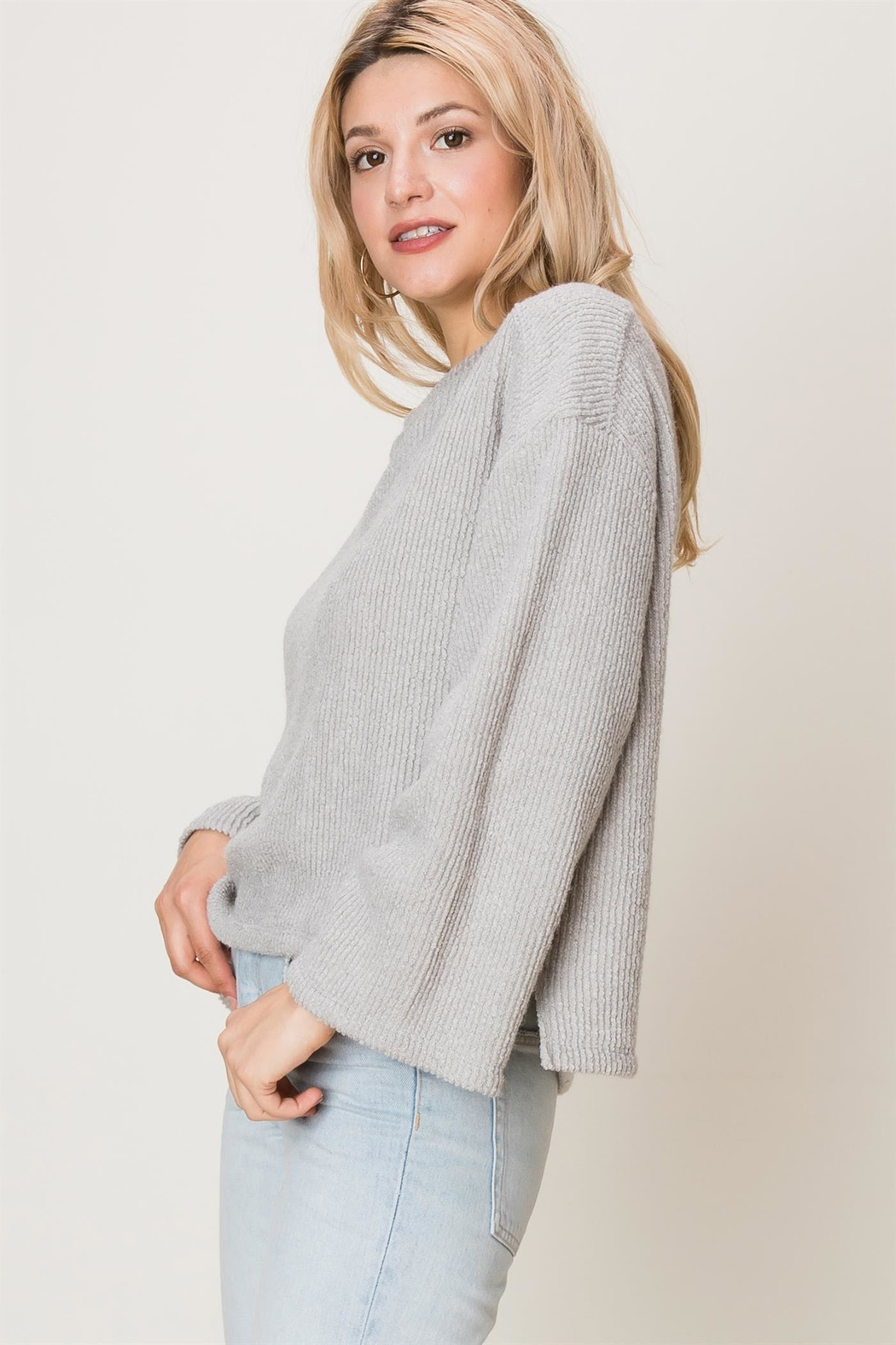 HYFVE Ribbed Knit Top - Side Cropped Image