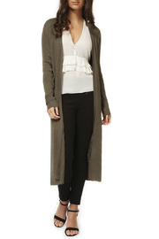 Dex/Black Tape Ribbed Long Cardigan - Product Mini Image