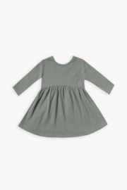 Quincy Mae Ribbed Longsleeve Dress - Product Mini Image