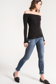 z supply Ribbed Off-The-Shoulder Top - Other