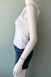THE RANGE NYC Ribbed One-Sleeve Top - Side cropped