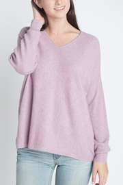 Dreamers Ribbed Pullover Sweater - Product Mini Image