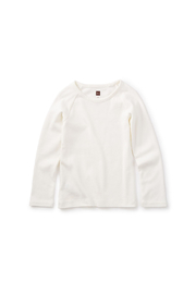 Tea Collection Ribbed Purity Tee - Front cropped
