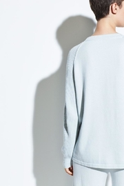 Vince Ribbed Raglan Crewneck - Back cropped