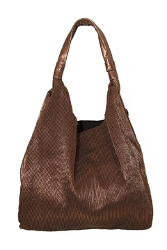 INZI Ribbed Shimmer Tote - Alternate List Image