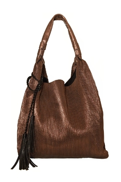 INZI Ribbed Shimmer Tote - Product List Image