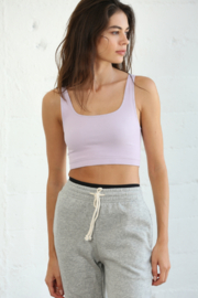 By Together Ribbed Short Tank Top - Product Mini Image