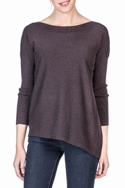 Lilla P Ribbed Sleeve Boatneck - Product Mini Image