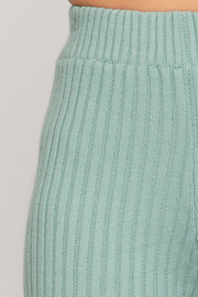 She and Sky Ribbed Sweater 7/8 Pants - Side cropped
