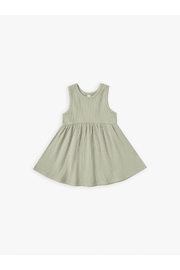 Quincy Mae Ribbed Tank Dress - Sage - Product Mini Image
