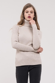 J.O.A. Ribbed Turtleneck - Product Mini Image