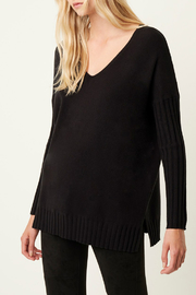 French Connection RIBBED V NECK SWEATER - Product Mini Image