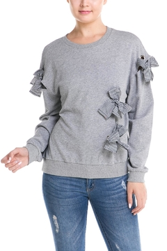 Mustard Seed Ribbon Detail Sweater - Product List Image