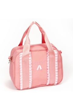 Shoptiques Product: Ribbon Duffel Bag(pink)